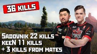 Sadovnik 22 Kills (36 Kills SQUAD with AVANGAR keenN)