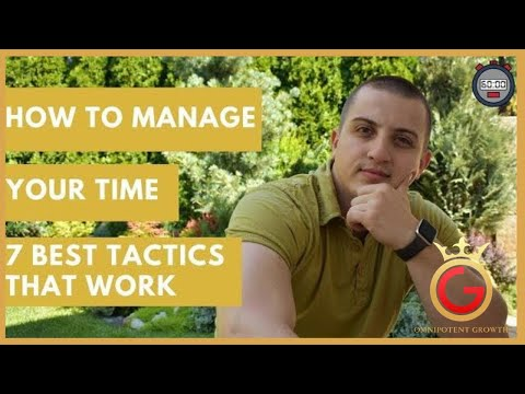 How to manage your time | 7 best tactics that work