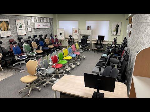 Магазин ортопедических кресел Duorest - шоу-рум Duorest
