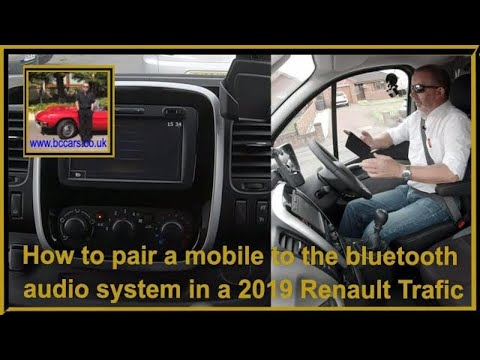 how-to-pair-a-mobile-to-the-bluetooth-audio-system-in-a-2019-renault-trafic