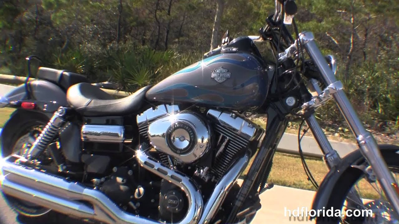 New 2014 Harley Davidson Dyna Wide Glide Motorcycle for sale - YouTube
