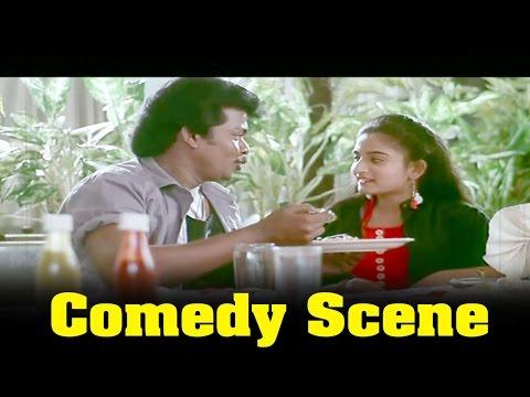 Unnai Vazhthi Padugiren Movie : Mohini And Parthiban Eating To Restaurent Funny Comedy Scene