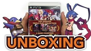 The Disgaea Triple Play Collection (Playstation 3) Unboxing!!