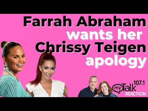 Farrah Abraham Wants Her Chrissy Teigen Apology