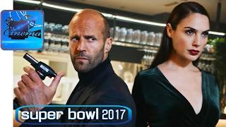 """Джейсон Стэйтем и Галь Гадот """"Зажигают"""" - Рекламный Ролик с Суперкубка (Super Bowl 2017)"""