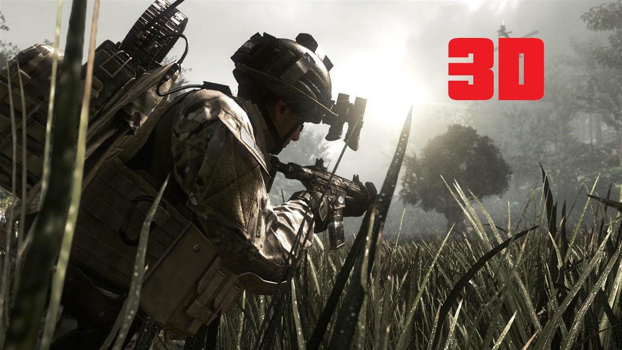 Call Of Duty Ghosts 3d Sbs 1080p Hd Youtube