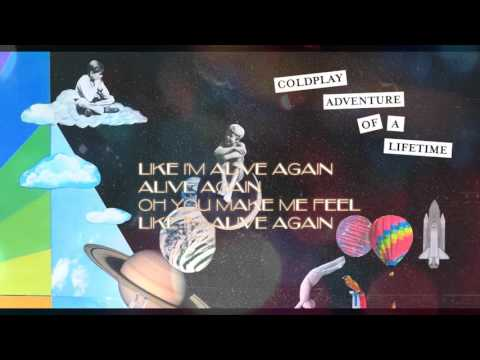 Coldplay - Adventure of a life time (LYRIC SONG)
