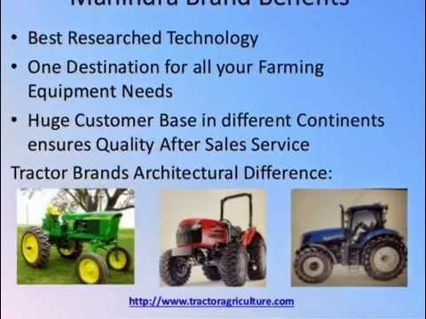 Mahindra Tractors - Best Farm Tractors in India & Abroad