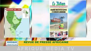 revue de presse africaine : KIOSQUE PANAFRICAIN DU 14 08 2018