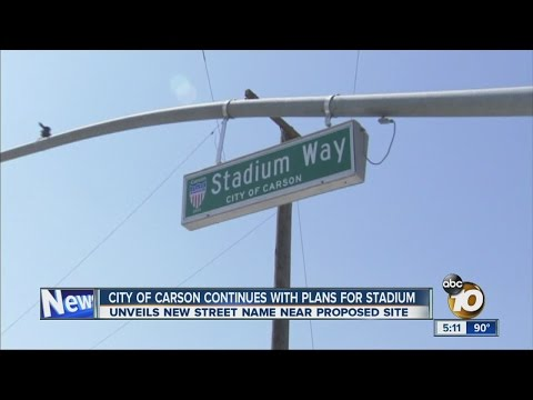 City of Carson continues with plans for stadium