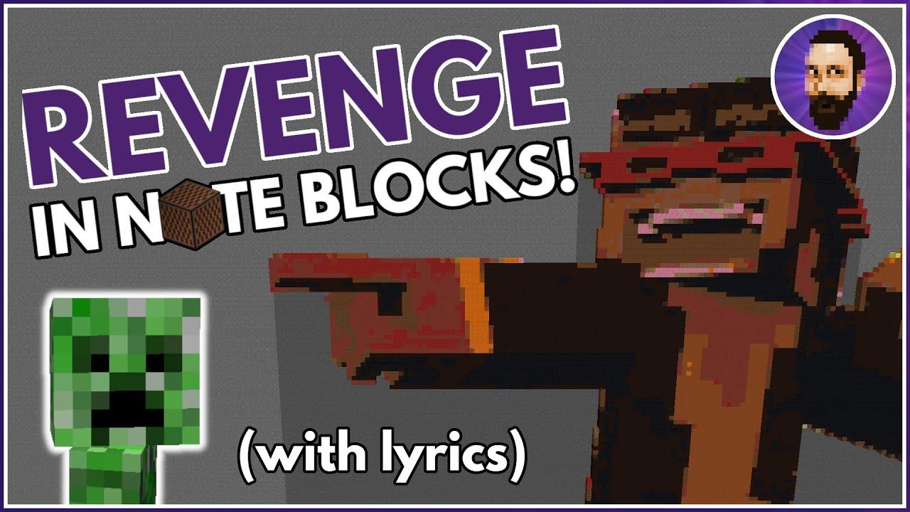 CaptainSparklez - Revenge  Minecraft Note Block Song Minecraft Map