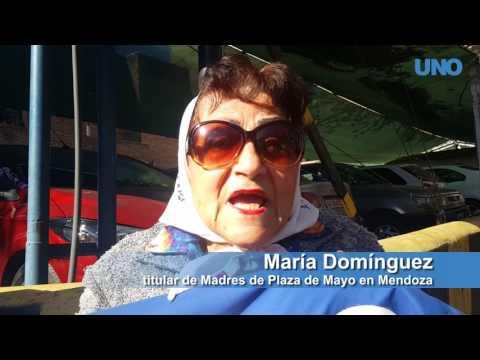 Estamos re contentas y aliviadas con la sentencia, dijo María Domínguez, madre de Plaza de Mayo en Mendoza