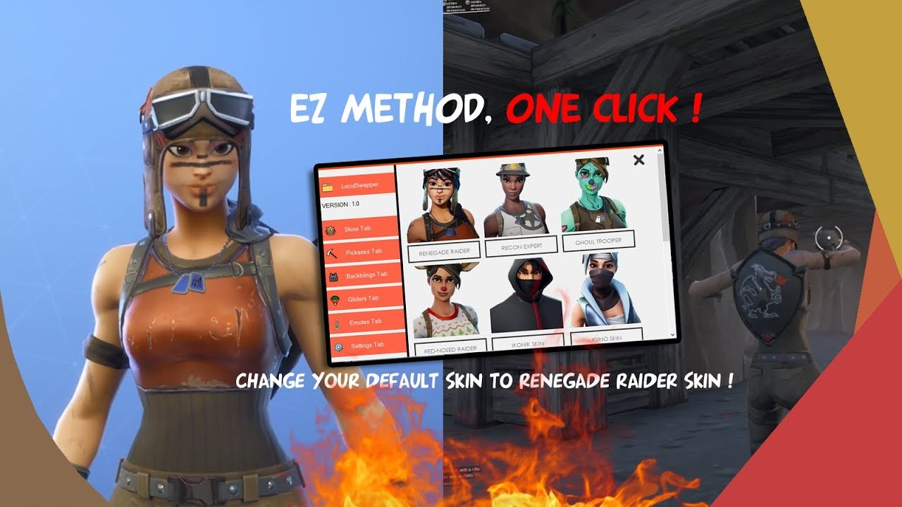 New Skin Changer Season  Fortnite Update Free To Use Og Skin Work Ingame Just One Click