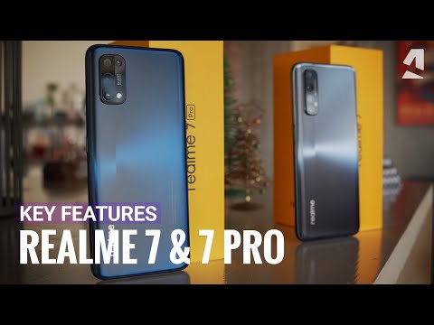 Realme 7 & Realme 7 Pro hands-on & key features