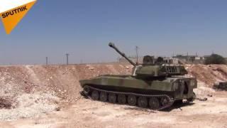 بالفيديو: الجيش السوري يصل إلى معان وصوران بعد تحريره قرى جديدة