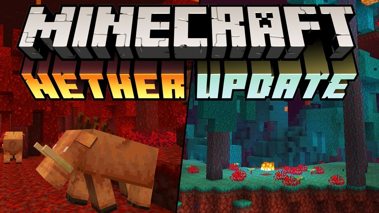 Minecraft 1.16 News : Nether Update! Piglin Beasts, Soulsand Valley & Netherwart Forests thumbnail