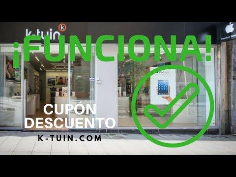 Cupon descuento k-tuin.com tiendas apple