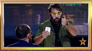 No One Trusted Him Until He Amazed The Judges With His Magic | Auditions 3 | Spain's Got Talent 2019