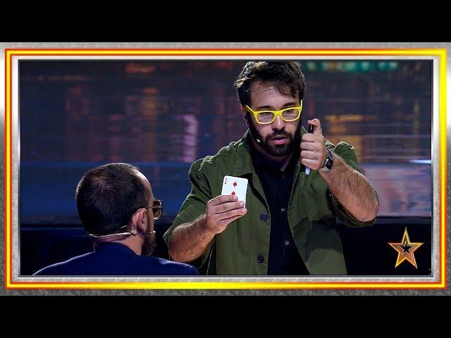 Ningún juez confiaba en este mago y les dejó boquiabiertos   Audiciones 3   Got Talent España 2019
