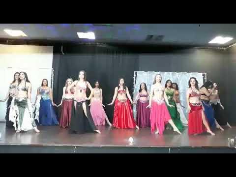 Espaço Patrícia Cavalcante Ya Gahyeb Dança do Ventre Princesas da Gratidão Group Belly Dance