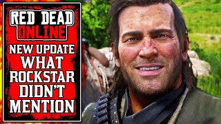 What Rockstar DIDN'T TELL YOU.. The New Red Dead Online Update This Week (RDR2)