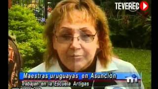 Escuela Artigas Paraguay TV Nota Uruguay 2011 TEVEREC