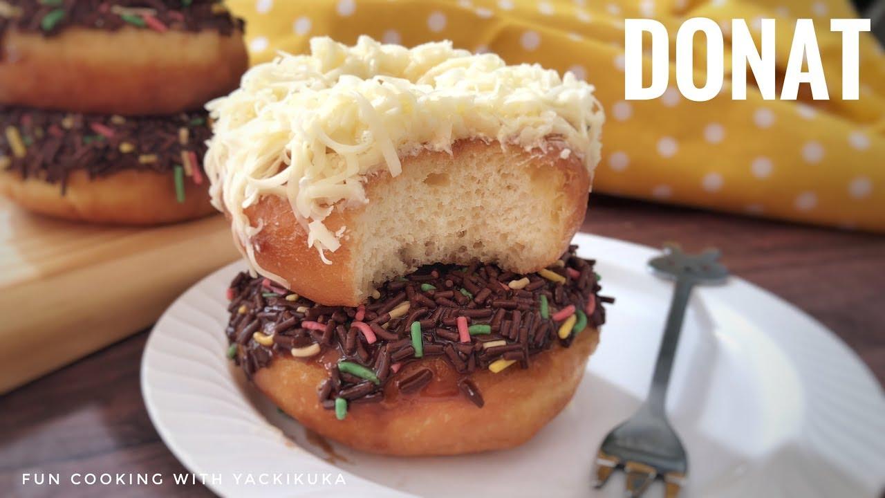 Donat Empuk Ekonomis Gapakelama Goreng Teflon Oven Best Doughnut Recipe Youtube Resep Makanan Resep Masakan Memasak