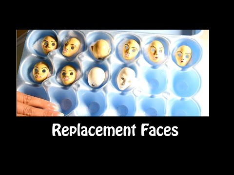 Replacement Face & Mold Making for Clay Head (Stop Motion Animation Puppet)
