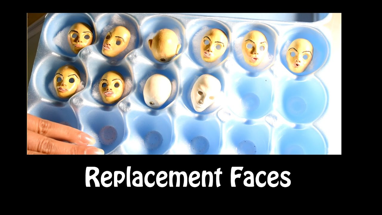 Replacement Face & Mold Making for Clay Head (Stop Motion Animation ...