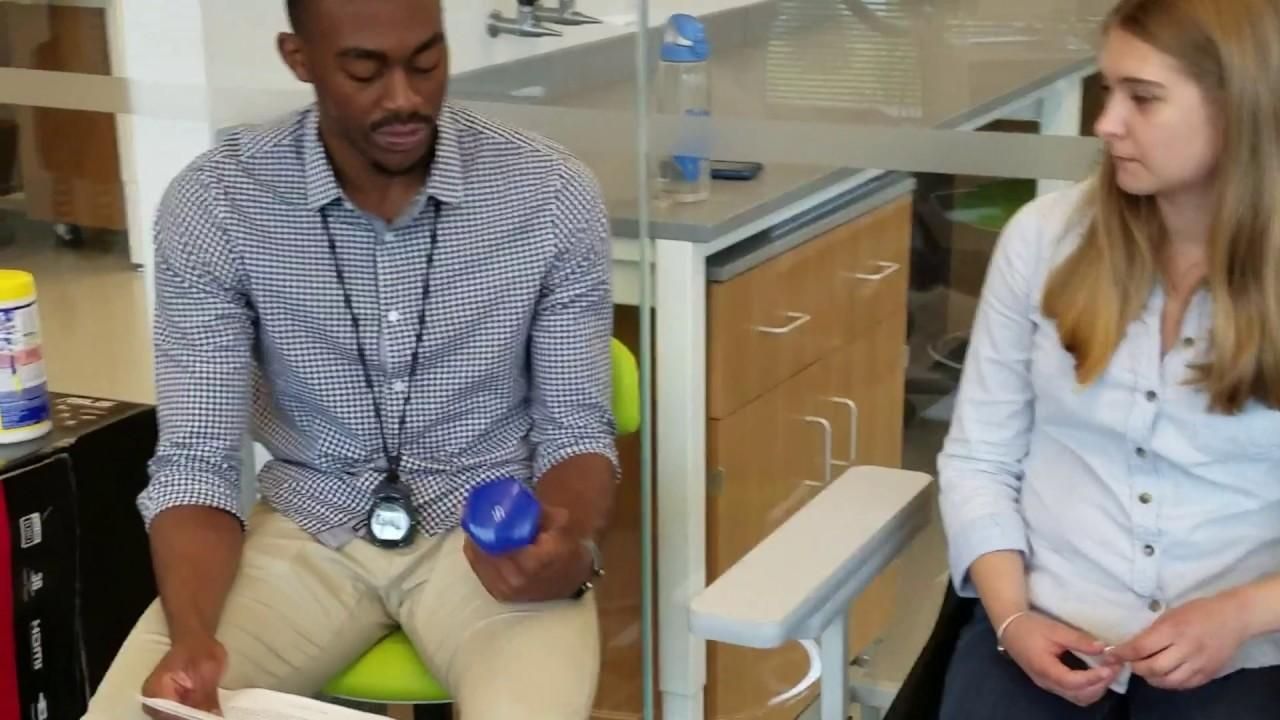 Northeastern University Senior Fitness Assessments - 30-second Arm Curl Test