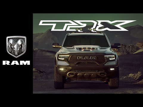 2021 Ram 1500 TRX Reveal | The Power Has Shifted
