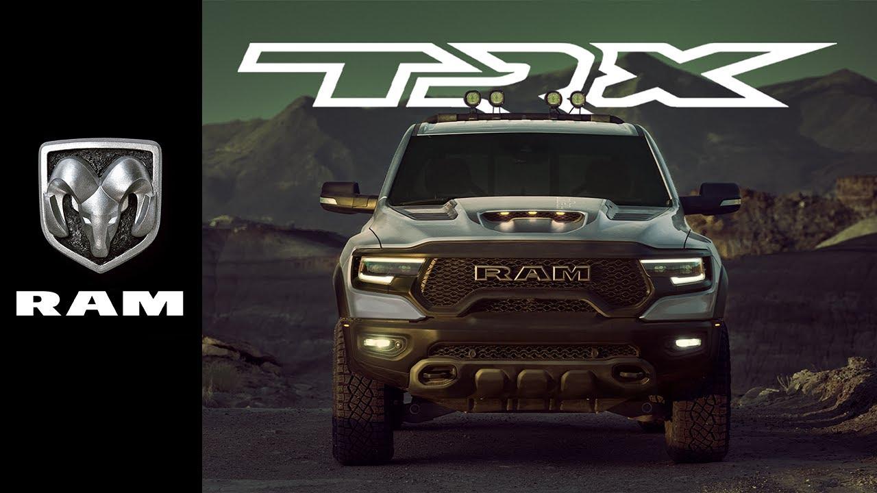 2021 Ram 1500 TRX off-road pickup truck
