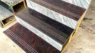 4 Types Granite Staircase Design With Price    Granite Staircase Banwane Me Kitna Kharcha Aata He