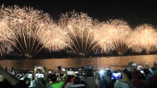 New Year 2016 Fireworks - Dubai - From Jumeirah Beach