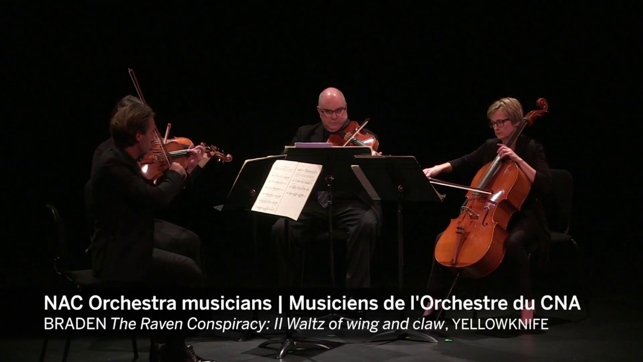 video: Waltz of wing and claw composed by Carmen Braden