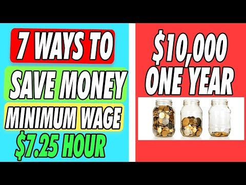 How To Save Money On Low Income | Minimum Wage (7 Best Ways)