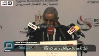 مصر العربية | قابيل: 2.4 مليار دولار حجم التجاري بين مصر وكوريا 2015