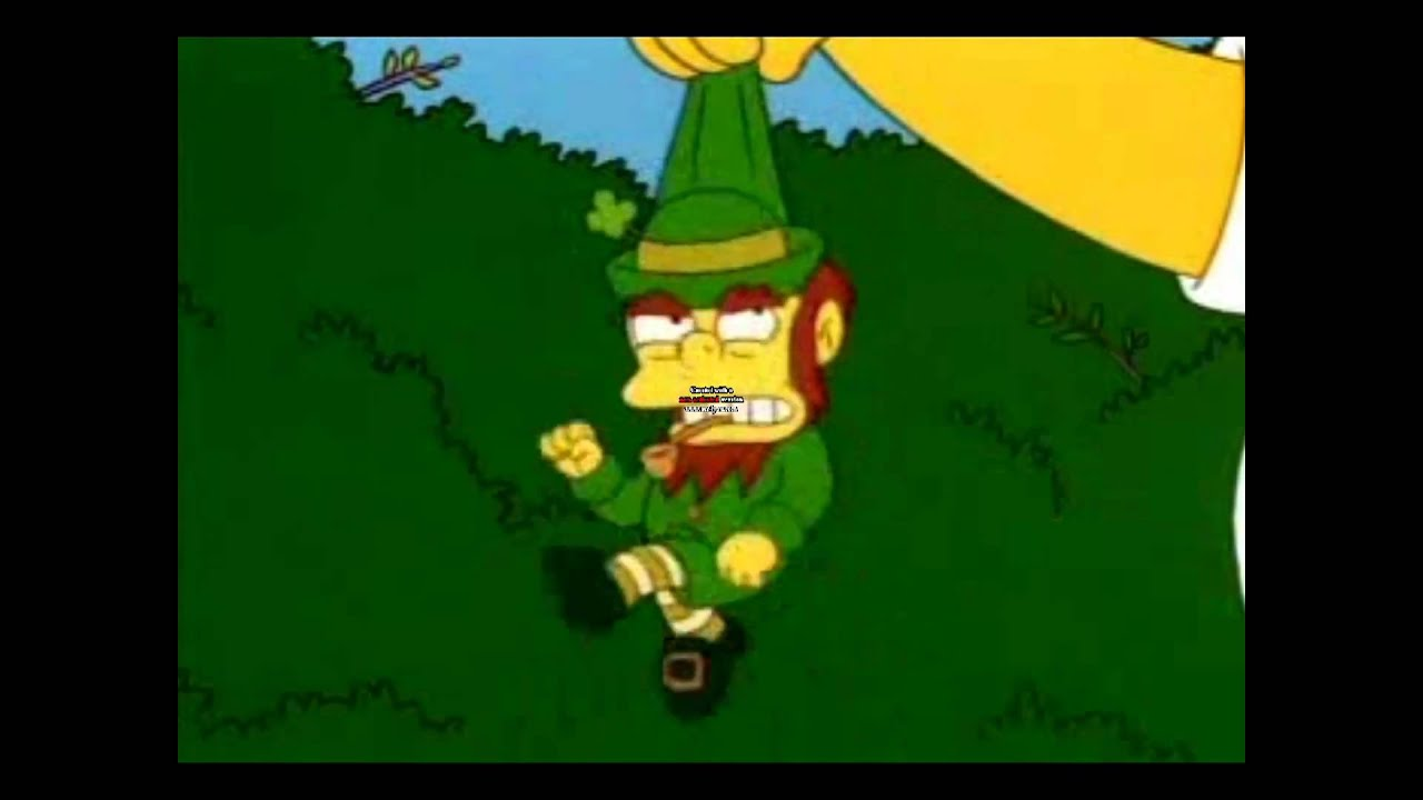 Uncategorized Leprechauns History a short history of ireland the simpsons youtube