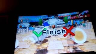 Wii sports resort Swordplay Speed Slice Beats Zefy