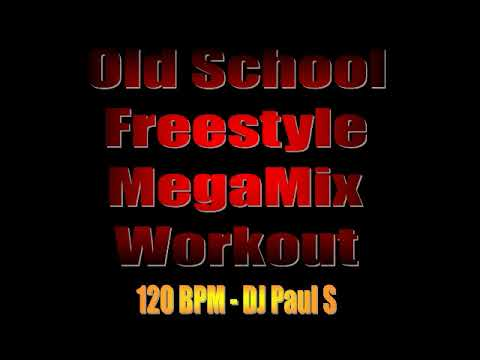 Old School Freestyle MegaMix Workout - (DJ Paul S)