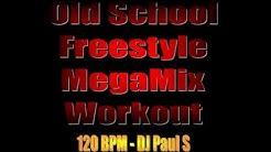 Old School Freestyle MegaMix Workout - (DJ Paul S)