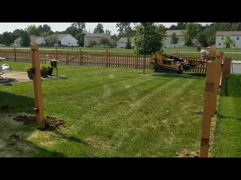 How To Remove A Fence-Schott Services Style!