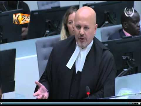 DP's defence team pokes holes in ICC Prosecutor's case