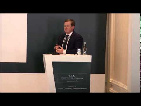 "Simon Bishop on ""Economic Analysis Developments in Merger Co"