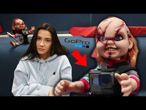 ATTACHING GOPRO TO REAL CHUCKY DOLL AT 3 AM!! (CAME AFTER US)