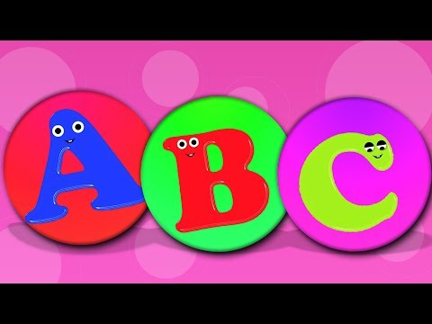 ABC Song in Hindi  Learn Alphabets A To Z  Kids Learning Songs In Hindi  बच्चों के लिए एबीसी गीत