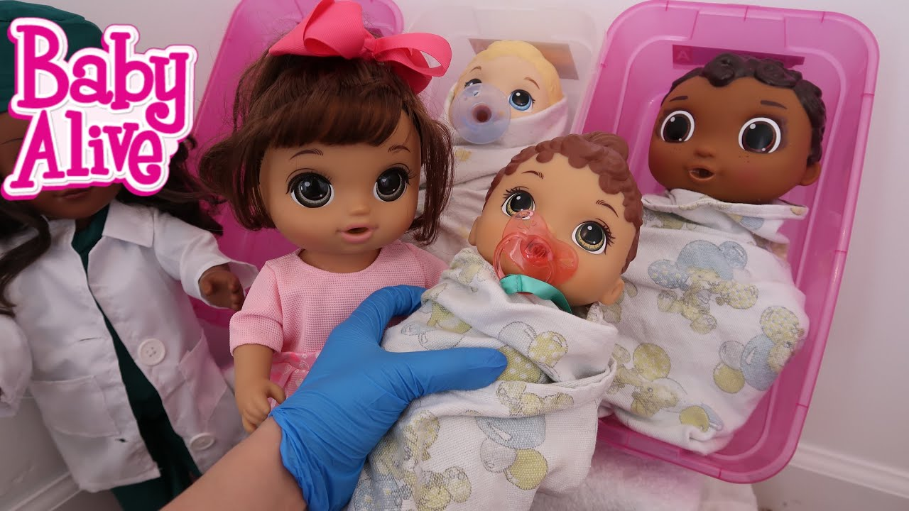 BABY ALIVE New baby is Born Lunas baby Sister - YouTube