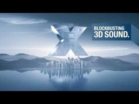 Denon | The AVR-X1200W Network AV Receiver - Blockbusting 3D Sound