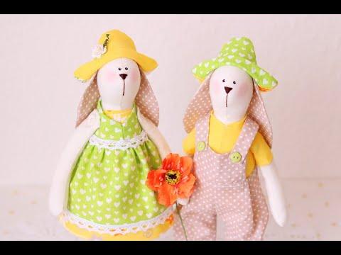 Сшить куклу тильду зайца своими руками выкройки и пошаговая инструкция