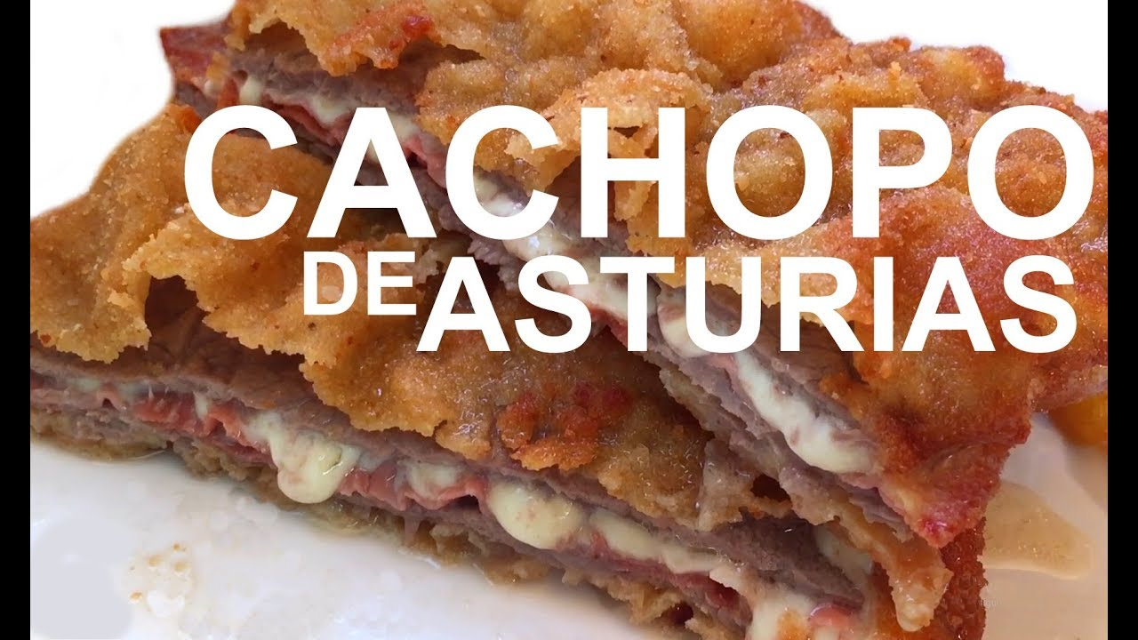 Cachopo Asturias Receta Cachopo Tradicional Asturiano Youtube